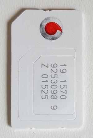 Mini SIM Karte